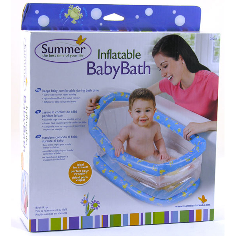 summer infant inflatable baby bath from summer infant | wwsm